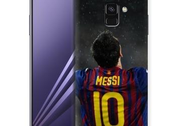 Дизайнерский пластиковый чехол для Samsung Galaxy A8 (2018) Барселона.