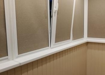 Остекление и отделка балкона/лоджии