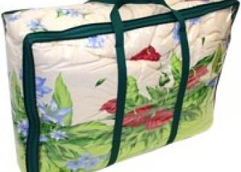 Упаковка из ПВХ, ПВД и Спанбонда для домашнего текстиля