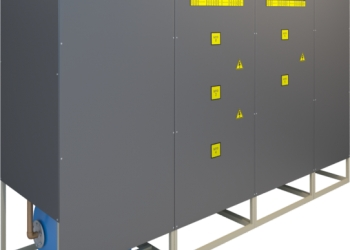Индукционный парогенератор ИП-500 проточного типа.
