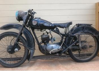 """Ретромотоцикл """"Минск"""" 1960 г.вып."""
