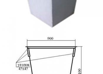 контейнеры тбо 0,75 кубм