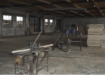 Продаётся деревообрабатывающий цех  по производству барабанов для кабеля