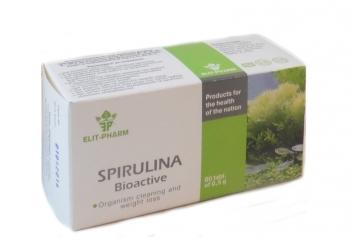 Спирулина Биоактив, 80 табл
