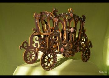 Конфетница-карета к праздничному столу