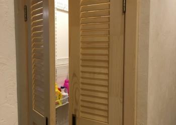 Дверь жалюзийная межкомнатная и для гардеробной