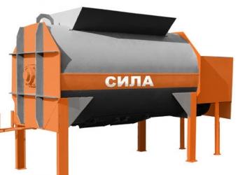 Горизонтальный бетоносмеситель СИЛА-1500