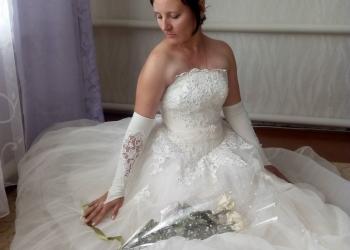 Срочно продам свадебное платье,в отличном состоянии.