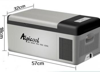 Компрессорный автохолодильник ALPICOOL