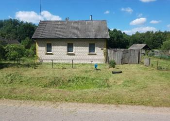 Дом в Белоруссии с верандой 7х10 на берегу озера меблированный
