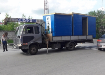 Услуги/аренда манипулятора 5 тонн в Тюмени