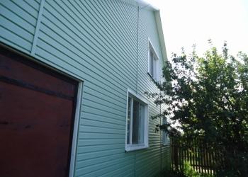 Продаю  2-этажный дом 100 кв.м. Блоки+кирпич+утеплитель+сайдинг.