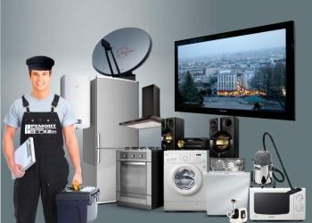 Ремонт телевизоров LCD, ЭЛТ, бытовой техники