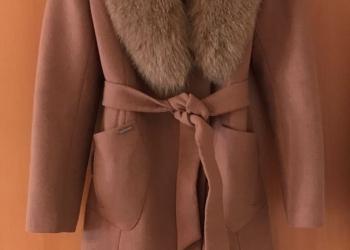 Пальто dekka натуральная шерсть, мех кролика