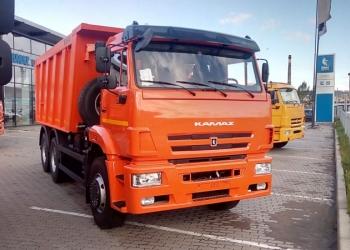 новый КАМАЗ-6520 самосвал