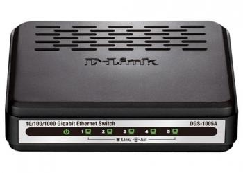 D-Link 10/100 Fast Ethernet Switch DES-1005A