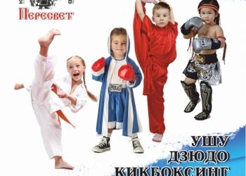 Единоборства и боевые искусства с 4х лет и старше