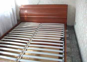 кровать 2-х спальная евро с матрасом