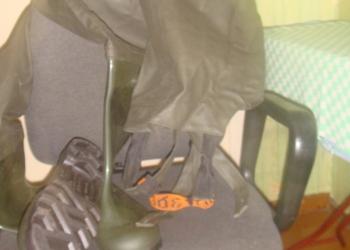 рыбацкии штаны+удочка с катушкой