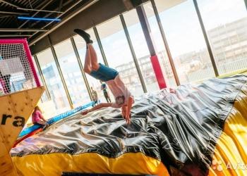 Батутные сетки, пружины, подушка для приземления