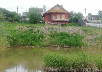 Продается дом с  прудом на участке