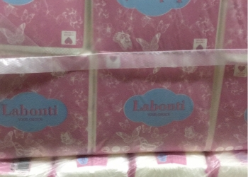 Бумажные салфетки Labonti 100 л.