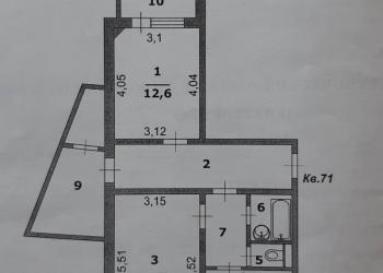 2-к квартира, 63 м2, 2/10 эт.