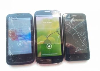 Два смартфона на запчасти