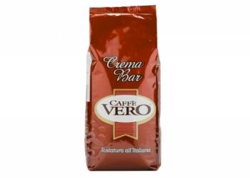 Кофе в зернах Сaffe Vero Crema Bar (Италия) 1 кг.