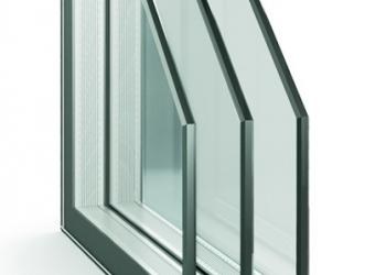 Окна двухкамерные( 3й стеклопакет)