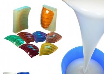 Литьевой двухкомпонентный силикон для создания пресс форм
