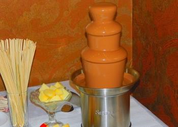 Шоколадный фонтан на праздник. Всё включено