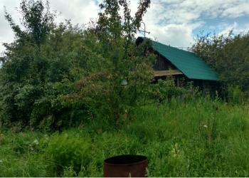 Продам участок со строящимся домом