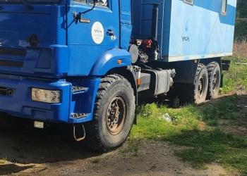 КАМАЗ 43118  Фургон с гидроманипуляторо Palfinger PK85