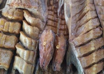 Раки, рыба, колбасы