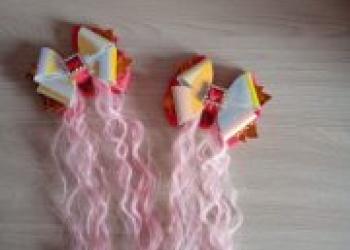 Аксессуары для волос ручной работы