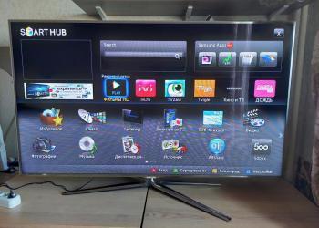 "Телевизор Samsung 60"" UE60D8000 + apple tv"