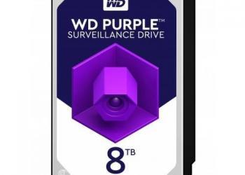 Жесткий диск 8tb WD Purple (новый) HDD SATA