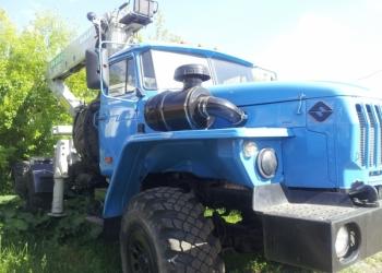 Урал 4320 седельный тягач с КМУ ИФ-300 состояние нового автомобиля 2010 г.в.