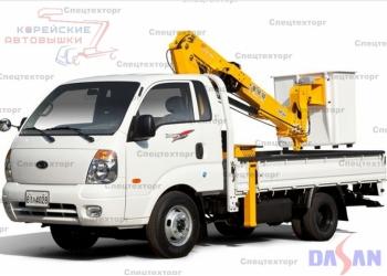 Продаётся автовышка DASAN DAP120 2013г.