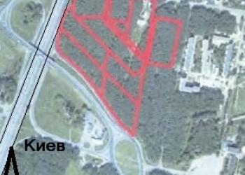 Продажа фасадного участка на Бориспольской трассе Пролиски