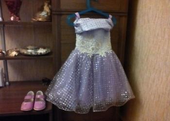 платье нарядное для девочки 4-6лет