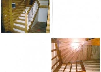 Деревянные лестницы в Одинцово, в Москве и Московской области.