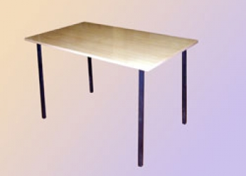 Продам Стол обеденный(ЛДСП) и табурет(металл/ ДСП) с доставкой по Чеховскому р-н