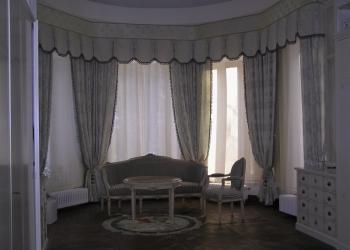 Пошив штор, ламбрекенов, покрывал, подушек, чехлов