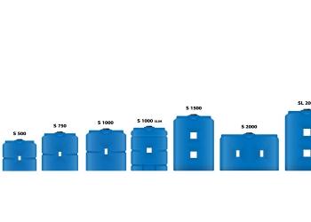 Емкости пищевые узкие от 500 до 2000л