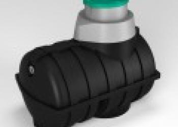 Резервуар, емкость подземная пластиковая от 1250л до 3000л