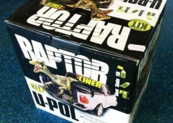 Покрытие повышенной прочности Raptor U-POL 4 литра Бесплатная доставка!