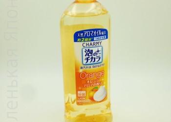 Японское средство для мытья посуды Lion Charmy 400 мл