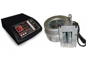 Комплект автоматики Tech ST24 + WPA 120 для твердотопливного котла